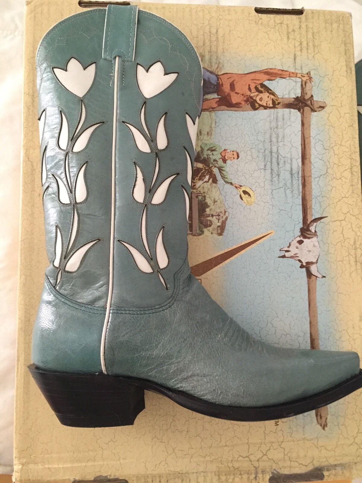 ultimi stili Vintage JUSTIN JUSTIN JUSTIN donna Lily Tulip  COWGIRL stivali 7.5 b NEW  incredibili sconti