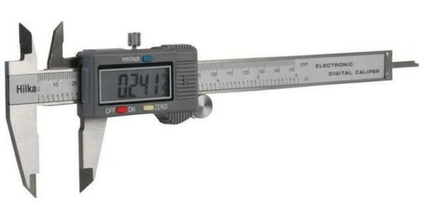 loose GG03L Hilka 150 mm Digital type Vernier Caliper Gauge 76991500