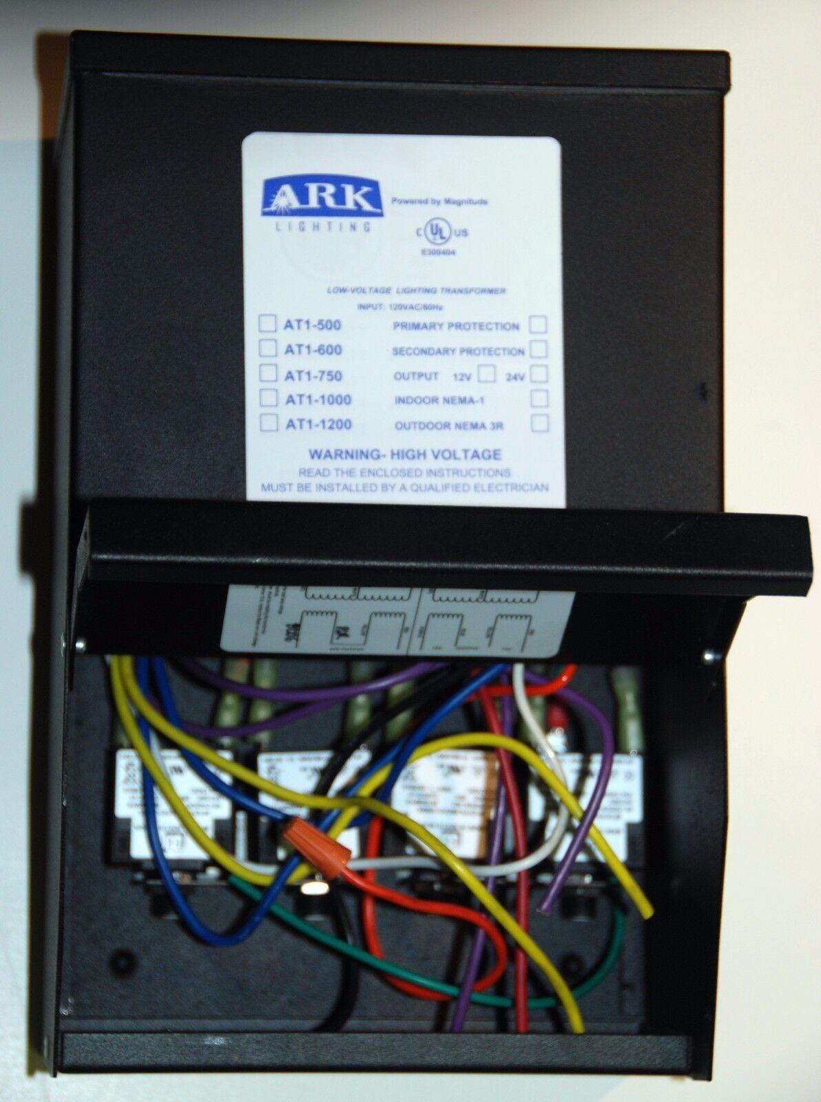 ARK LIGHTING AT-1-150-12R OUTDOOR 150W 120/>12V TRANSFORMER LOW VOLTAGE