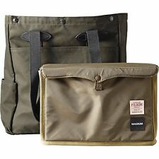 NEW! FILSON MCCURRY TOTE BAG - MAGNUM BLACK #70194 EXPEDITED SHIPPING!