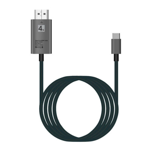 Plus Note 8 Type C To HDMI HDTV AV TV Cable Adapter For Samsung Galaxy S9 S9