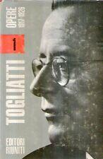N54 Togliatti 1 Opere 1917 - 1926 Ed. Riuniti 1967