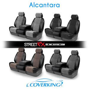 Coverking Alcantara Custom Seat Covers For Chevrolet S10 Pickup Ebay
