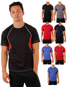 New-Dri-Fit-Workout-Short-Sleeve-Top-Basketball-Fitness-Activewear-Top-Gym-Tee