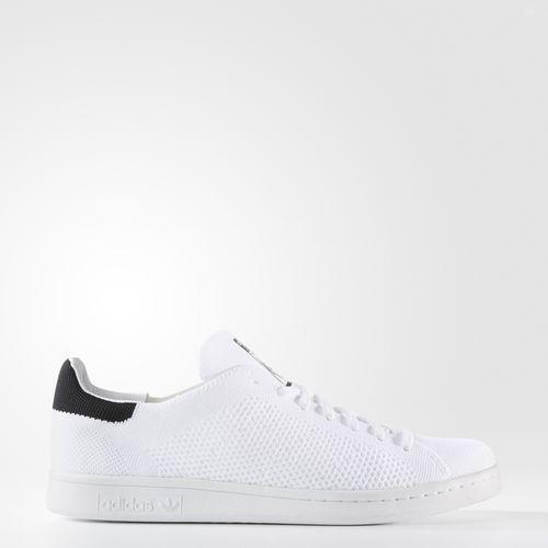 mens adidas stan smith primeknit calzature bianco nero ci bz0117 nucleo