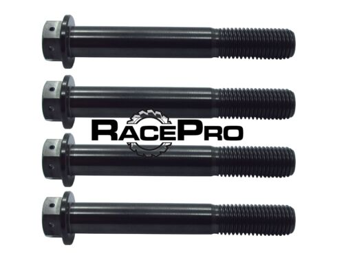 K6 Suzuki GSXR1000 K5 4x RacePro Black Race Drilled Titanium Caliper Bolt