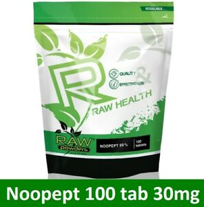 RAW-Health-100-tab-30mg-Boost-Memory-Brain-Function-Focus-Concentration