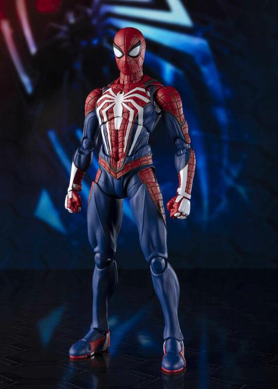 Bandai S.H. Figuarts Hombre Araña Traje avanzada de Spiderman Marvel SH SHF figura