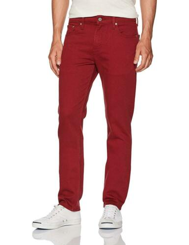 Levi/'s 511 Slim Fit Zipper Fly Jeans Color Red 2527