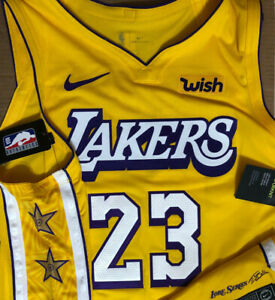 lebron james city edition Lakers jersey authentic Nike Size 56 XXL ...