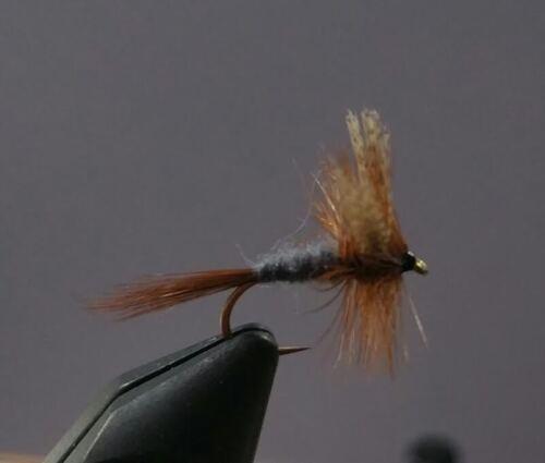 1 Dozen Trout Dark Cahill Dry Fly