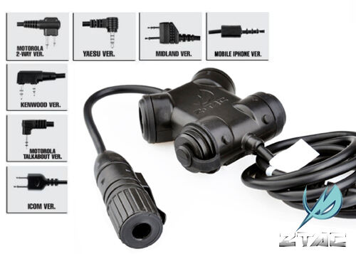 Kenwood Z130-K2PIN Z Tactical ZSILYNX CLARUS PTT