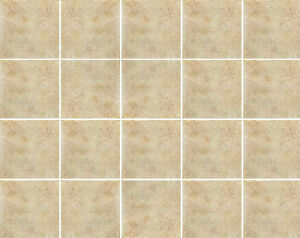 Piastrelle bagno 20x20 pavimento rivestimento Canova Ambra beige ...
