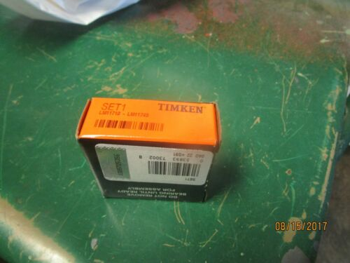 Timken Set1 LM11749 /& LM11710 Cup//Cone one cup and one cone