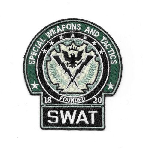 "Batman The Dark Knight Gotham Police SWAT 4/"" x 3/"" Embroidered Patch"