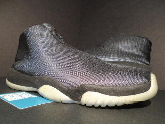 2014 NIKE AIR JORDAN FUTURE REFLECTIVE 3M BLACK CLEAR 656503-011 12