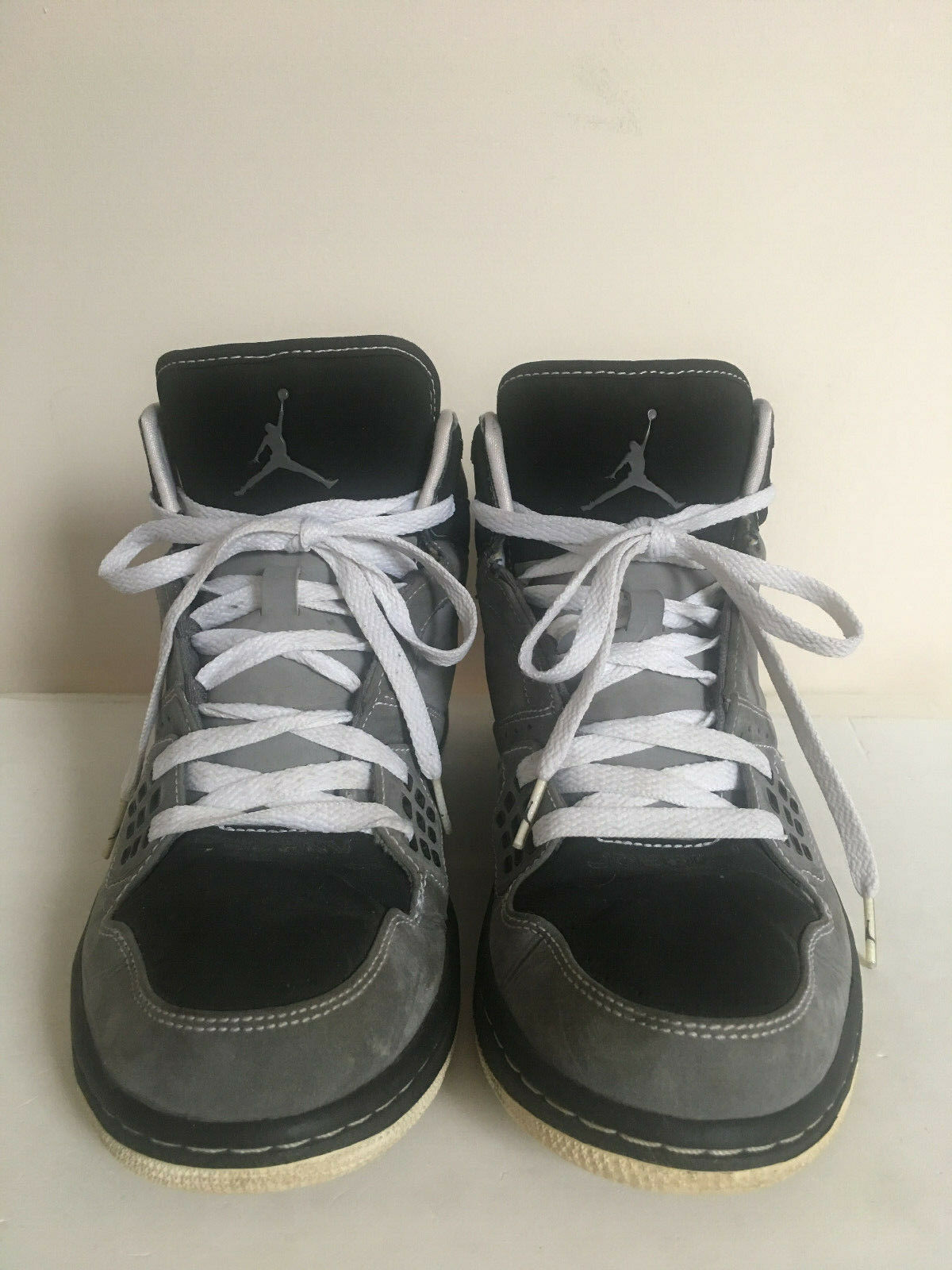 nike mens grigio / nero velluto jordan volo - top top top scarpe sz. 9   Materiale preferito    Qualità Stabile    riparazione    Sig/Sig Ra Scarpa    Gentiluomo/Signora Scarpa    Sig/Sig Ra Scarpa  0a54e1