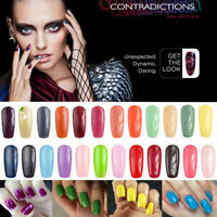 Hot selling 7.3mL CND Shellac UV Color Coat Gel Nail Power Polishes Lacquers