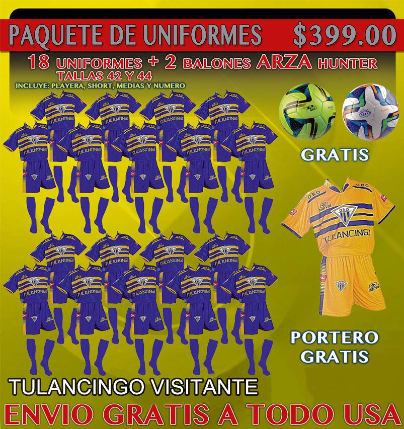 20 Marval Tulancingo lejos fútbol uniformes 100% Poliéster Hecho en México _ Venta _