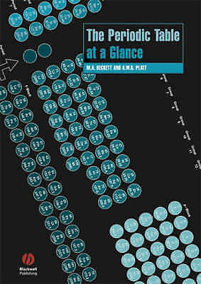 (Good)-The Periodic Table at a Glance (Chemistry At a Glance) (Paperback)-Platt,