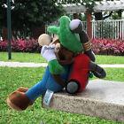 "Luigi's Mansion 2 Super Mario Bros Luigi Plush Toy Game Stuffed Animal Doll 9"""