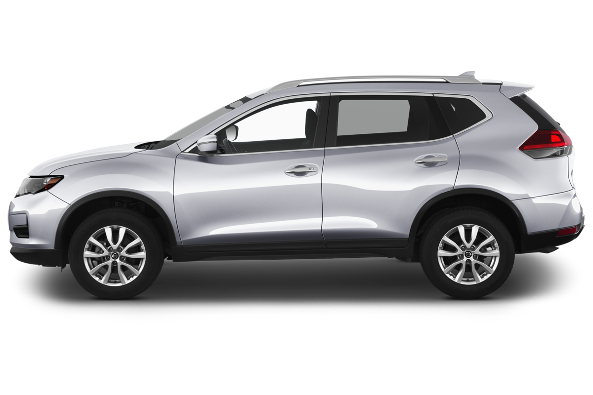 Nissan Rogue side view