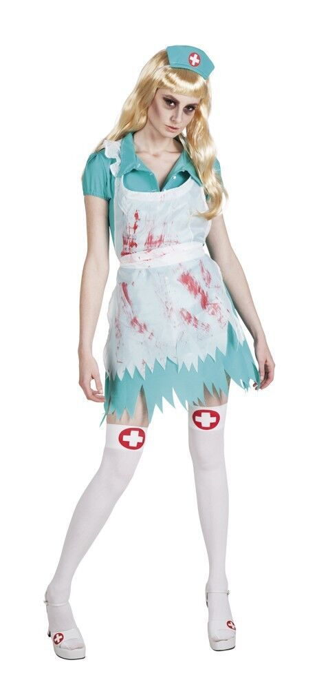Walking Dead Zombie Krankenschwester Bloody Nurse Outfit