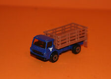 MATCHBOX - CATTLE TRUCK #71 *RARE BLUE* - 1978 CHINA - DIECAST TOY MODEL