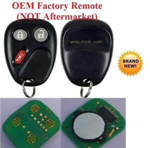 2 New Remote OEM Factory Electronics Key Keyless Entry Fob Transmitter For Gm