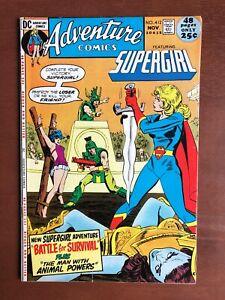 Adventure-Comics-412-1971-7-0-FN-DC-Key-Issue-Bronze-Age-Comic-Supergirl