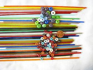 1lb-Devardi-Glass-Rods-Lampwork-COE-104-Mixed-Stringers