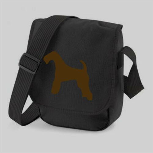 Airedale Terrier Shoulder Bag Mini-Reporter Bag Birthday Gift Brown or Red Dog