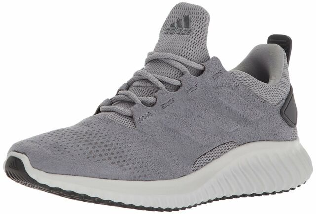16e08d9247095 adidas Mens Size 11.5 Alpha Bounce CR M Training Running Gray Shoes ...
