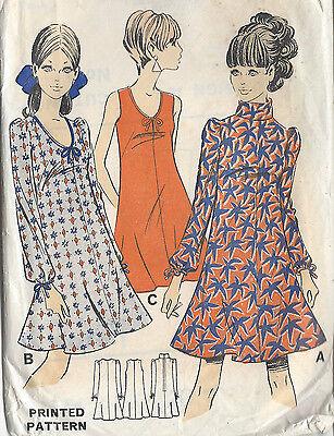 """BIBA 1864 1960 s Vintage Sewing Motif B36/"""" Robe Barbara Hulanicki"""