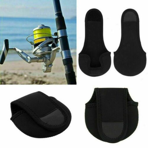 Elastic Fishing Bag Spinning Reel Pouch Baitcasting Protective Case Cover Holder