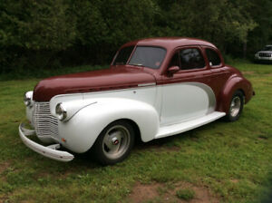 1940 Chevy Deluxe Coupe Cruiser 350 turbo $17,000
