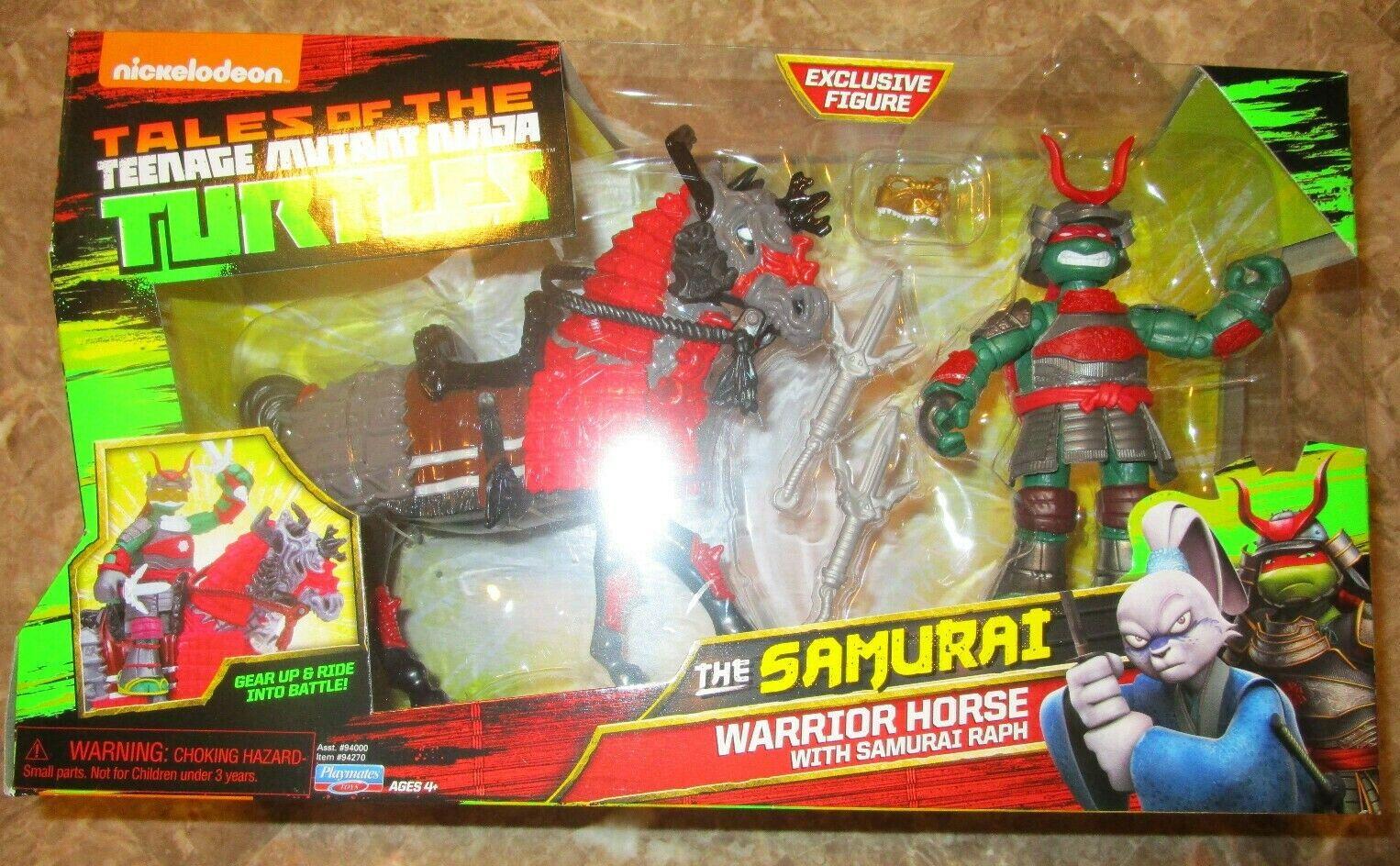 Tales of The Teenage Mutant Ninja Turtles SAMURAI WARRIOR HORSE RAPH cifra SET
