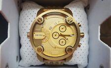 Diesel Little Daddy DZ7287 Cronógrafo Inoxidable Reloj de Hombre Color Oro Watch