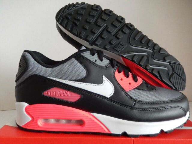 3efce88c810 Nike Air Max 90 ID Mens Running Shoes 13 White Royal Blue Grey Red