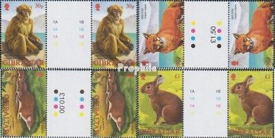 Honesty Gibraltar 1010zw-1013zw Between Steg Couples Mint Never Hinged Mnh 2002 Animals Big Clearance Sale Stamps
