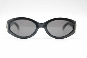 Gianfranco-Ferre-GFF-487-S-4YW-53-18-Schwarz-oval-Sonnenbrille-sunglasses-Neu
