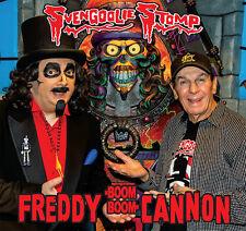 """SVENGOOLIE STOMP Freddy Cannon 2016 picture sleeve orange vinyl 7"""" NEW Halloween"""