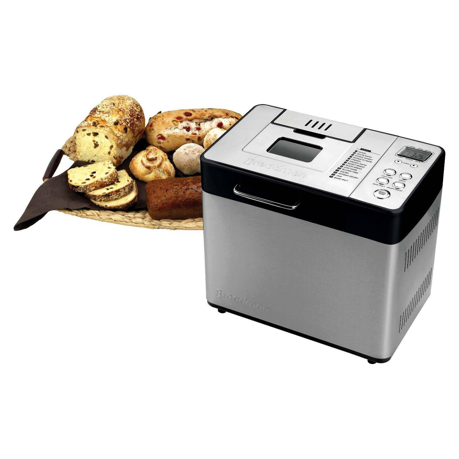Breadman 2lb Professional Bread Maker with Automatic Fruit and Nut Dispenser 2