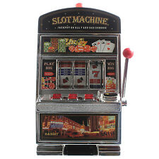 Piggy Money Cash Coins Safe Box Savings Bank Slot Machine With Sound And Light