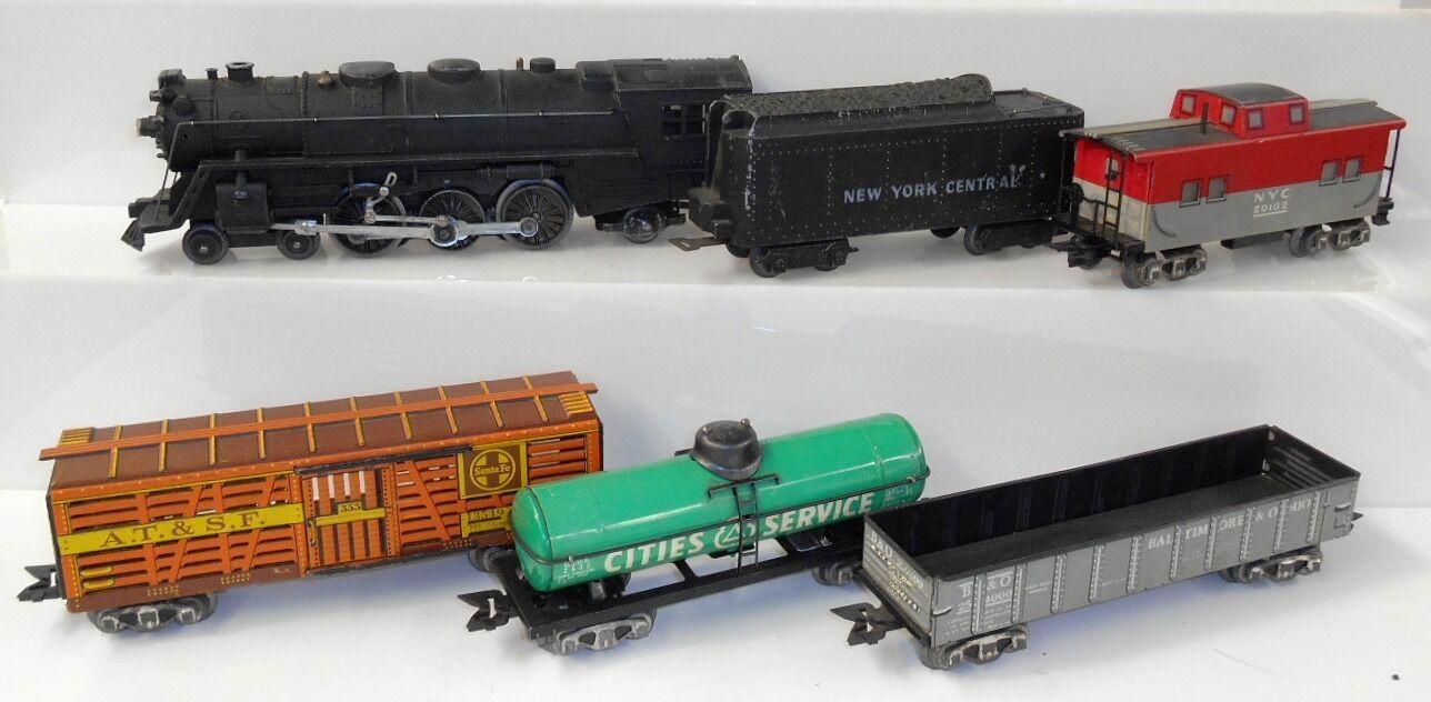 Marx O gauge 3 16 333 Locomotive w  13549, 2532, 254000 & 20102. VERY NICE