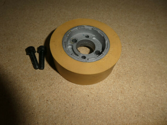 Rubber Feed Roller DI140 W50 B35 K10 ELASTOMERI for Planer Moulders EU SET of 2