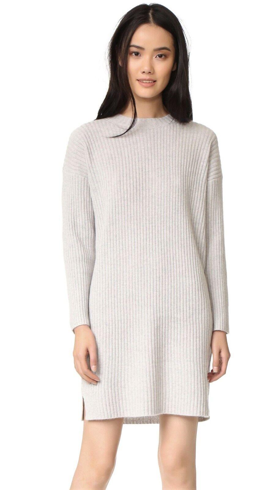 NWT 360 Cashmere Keegan Cashmere Dress Shitake Size M