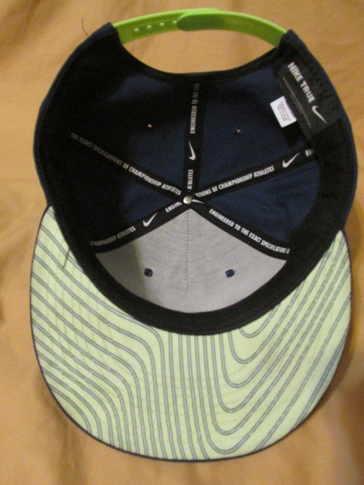 Men's Nike True Snapback Baseball Cap Hat Seattle… - image 5