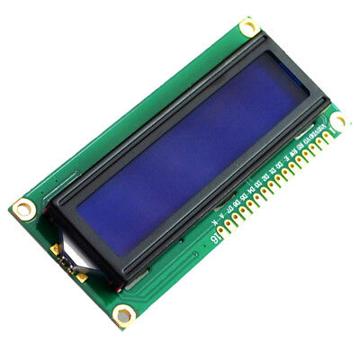 Blue LCD Display 5V 1602 2x16 Characters 122*44MM 8-bit For Arduino ATF