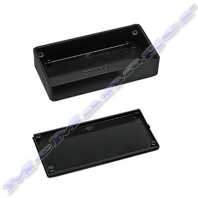 71x71x27mm Black ABS Plastic Enclosure Small Project Box For Electronic Circuit